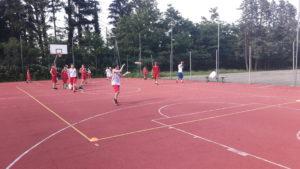 Allenamento frisbee